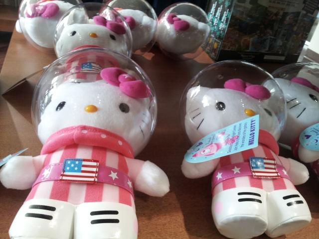 Toys at the NASA gift shop