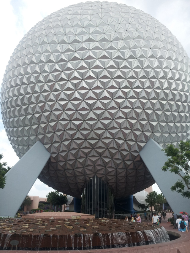 The Epcot ball - it's a classic.