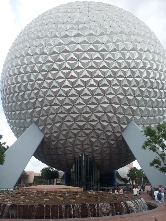 The Epcot ball - it's a classic.