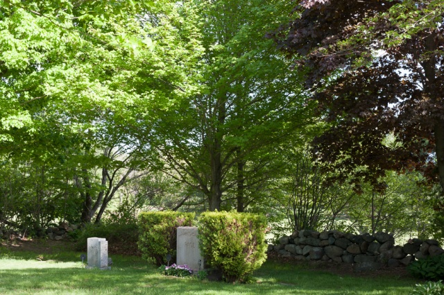 The Wenham Cemetery and Page plot