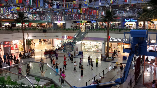 Zoomba at the Micronesia Mall (the cheaper second cousin of DFS Galleria)