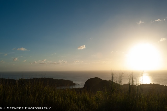 Sunset on the southwestern side of Guam