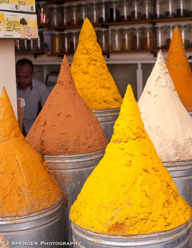 Spices in the souks